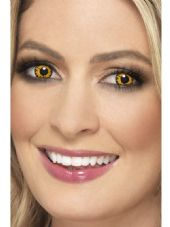 Sunset Yellow One Day Contact Lenses